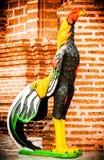 Kippenstandbeeld Stock Foto