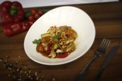 Kippenwhit groente royalty-vrije stock foto