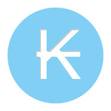 Kips currency symbol icon Stock Photos