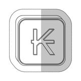 kips currency symbol icon Royalty Free Stock Photos