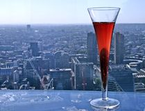 Kir Royal Royalty Free Stock Photography