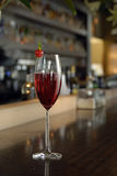 Kir Royal Cocktail Stock Photography