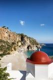 Kira Panagia Beach, Karpathos island, Greece. Stock Image