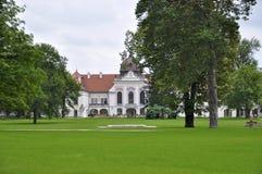 Kiralyi Kastely's gardens Royalty Free Stock Images