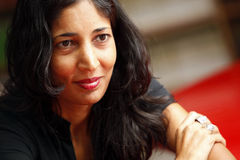 Kiran Desai. Author Kiran Desai visited Istanbul to promote his book The Inheritance of Loss on August,2010,Turkey Stock Photos