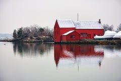 kirby зима пруда стоковые фото