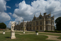 Kirby hall and grounds. Kirby hall in Northants set in its grounds Royalty Free Stock Photo