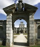 Kirby hall northamptonshire Royalty Free Stock Photos