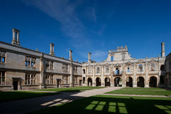 Kirby Hall Northamptonshire Angleterre Photographie stock libre de droits