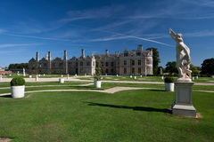 Kirby Hall Northamptonshire England Royalty Free Stock Photo