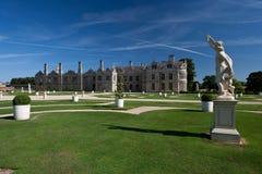 Kirby Hall Northamptonshire England. Kirby Hall and Gardens Northamptonshire England Royalty Free Stock Photo