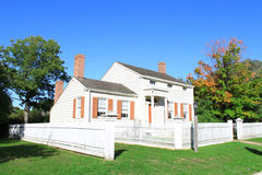 Kirby House. In Long Island was restored to 1845 Royalty Free Stock Photos