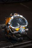 Kirby Morgan 37 Diving Helmet. WARSAW, POLAND - MAY 08, 2015: Kirby Morgan 37 Diving Helmet for diving in biologically contaminated water.. Public celebrations stock images