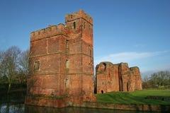 Kirby Muxloe castle. Sandstone tower of Kirby Muxloe castle Royalty Free Stock Photography