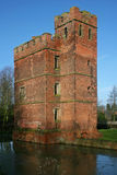 Kirby Muxloe castle Royalty Free Stock Image