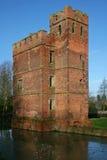 Kirby Muxloe castle. Sandstone tower of Kirby Muxloe castle Royalty Free Stock Image