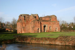 Kirby Muxloe castle Stock Photo