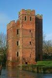 Kirby Muxloe castle. Sandstone tower of Kirby Muxloe castle Stock Photos