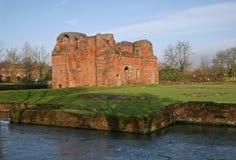 Kirby Muxloe castle. Sandstone ruins of Kirby Muxloe castle Royalty Free Stock Image