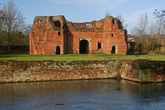 Kirby Muxloe castle Royalty Free Stock Photos