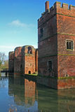 Kirby Muxloe castle Royalty Free Stock Images