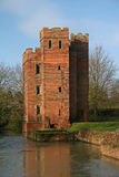 Kirby Muxloe castle Royalty Free Stock Photo