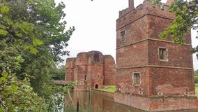 Kirby Muxloe Schloss Stockfotografie