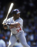 Kirby Puckett. Minnesota Twins OF Kirby Puckett, #34  (image taken from color slide Royalty Free Stock Photography