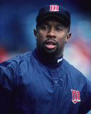 Kirby Puckett. Minnesota Twins star Kirby Puckett.  (Image taken from a color slide Royalty Free Stock Image