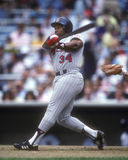 Kirby Puckett. Minnesota Twins star Kirby Puckett.  (Image taken from a color slide Royalty Free Stock Photography