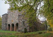Kirch Mennonites dans Ragnit a été construit en 1853 Image libre de droits