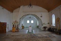Kircha Heiligenwalde St Nicholas kościół, teraz Kaliningrad region, Rosja fotografia stock