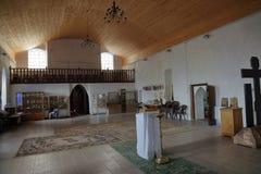 Kircha Heiligenwalde St Nicholas kościół, teraz Kaliningrad region, Rosja zdjęcie stock