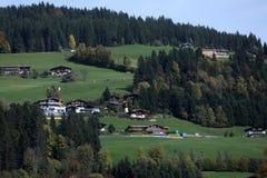 Kirchberg em Tirol, paisagem bonita fotografia de stock royalty free