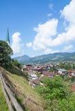 Kirchberg Tirol, Österrike royaltyfria bilder
