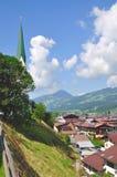 Kirchberg, Tirol, Oostenrijk Royalty-vrije Stock Foto