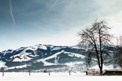 Kirchberg, Tirol in Oostenrijk Royalty-vrije Stock Afbeelding
