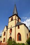 Kirche圣马丁在林茨,德国 库存照片
