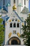 kirche ορθόδοξος Στοκ Φωτογραφία
