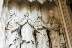 Kirche Мария am Gestade Стоковое Изображение RF