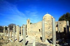 Kirche Agia Kyriaki, Paphos, Zypern Lizenzfreies Stockbild