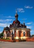 Kirche in Aleksandrov, Russland Stockfotografie