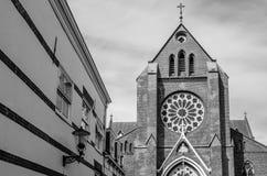 Kirche in Alkmaar, die Niederlande Stockbild