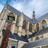 Kirche in Alkmaar, die Niederlande Lizenzfreies Stockfoto