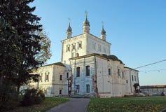 Kirche aller Heiligen Goritsky-Kloster von Dormition in der Stadt von Pereslav-Zalessky Russland Lizenzfreies Stockfoto