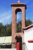 Kirche in Anaxos Lesbos Stockfotografie