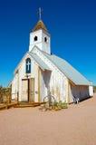 Kirche in Apache-Kreuzung Stockbilder