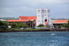 Kirche in Apia Lizenzfreies Stockfoto