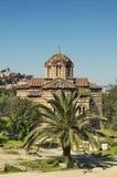 Kirche in Athen Stockbild