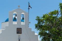 Kirche auf Antiparos Stockfotografie